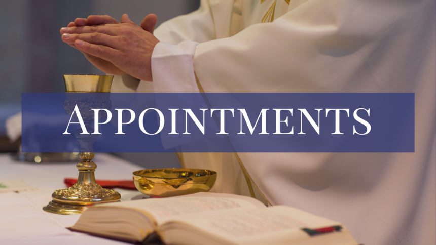 Clergy Assignments
